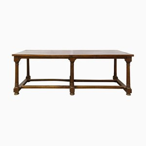 French Oak Refectory Table, Late 18th Century