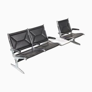 Airport Tandem Sling eat by Charles & Ray Eames for Herman Miller, USA, 1960s