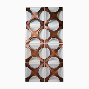 Wall Light Sculpture by Dieter Witte and Rolf Krüger for Staff Lamps