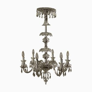 Chandelier in Glass, Italy, 20th Century