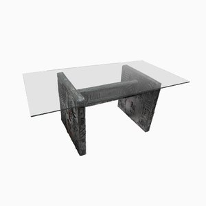 Brutalist Dining Table by Adrian Pearsall for Craft Associates