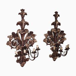 Antique Style Sconces, Set of 2