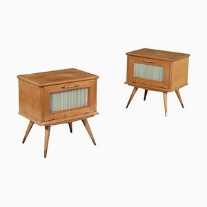 Bedsides, 1950s, Set of 2