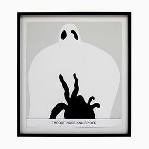 John Baldessari Sediment, Throat, Nose and Spider, 2010, Print