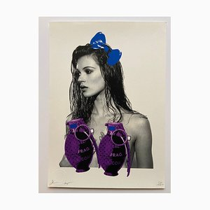 Death NYC, Grenade Kate Moss, 2013, Signed Silkscreen Print