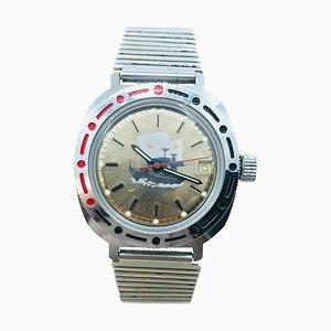 Military Marine Uhr von Vostok, 1980