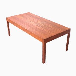 Table Basse Mid-Century en Teck de Lübke, 1970s