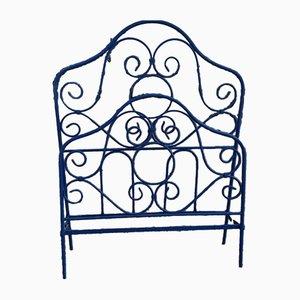 Schmiedeeisernes Viereckiges Eisen Bett, 1900er
