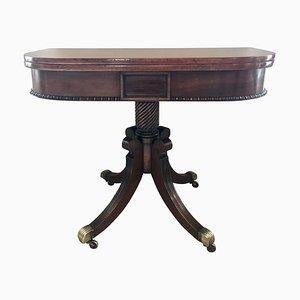 Antique Regency Mahogany Tea Table