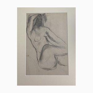 Herta Hausmann - Akt Frau - Original Bleistiftzeichnung von Herta Hausmann - 20. Jahrhundert