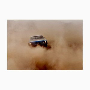 Richard Heeps, Buick In the Dust II, Farbfotografie, 2000
