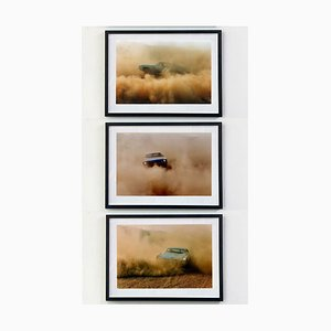 Richard Heeps, Buick In the Dust, Color Photography, 2000, Set of 3