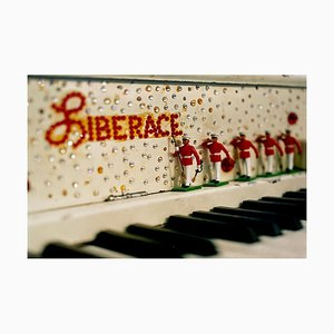 Liberace Klavier, Amerikanische Pop Art Farbfotografie 2001