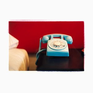 Telefon I, Ballantines Movie Colony, Palm Springs - Innenfarbfotografie 2002