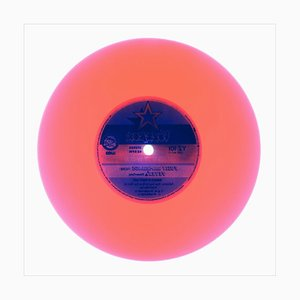 B Side Vinyl Collection, Side Two Congo Pink - Photographie couleur Pop Art 2016