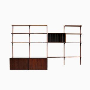 Royal Rosewood Wall Unit by Poul Cadovius for Cado, 1960s