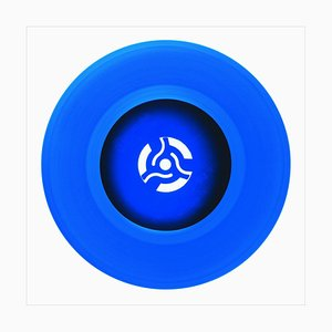 B Side Vinyl Collection, Cobalt Blue Recording, Pop Art Color Photography, 2016