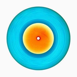 Colección B Side Vinyl, 1981 Azul - Fotografía en color de arte pop contemporáneo 2016