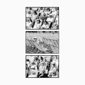 Tríceps de fotografía de Eastbourne - Whitestand en blanco y negro, 1985