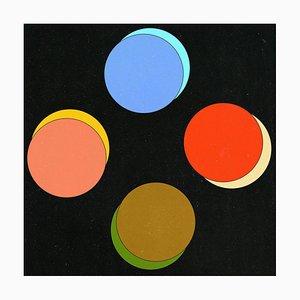 Nichts existiert außer Atome und leerer Raum - Silkscreen and Giclee Print 2020