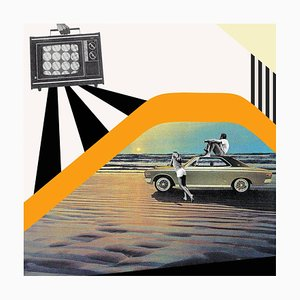 Cool Drive - Surrealist Silkscreen Print 2020