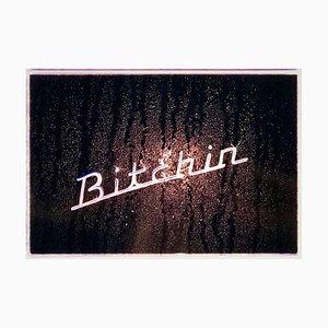 Bitchin ', Hemsby, Norfolk - Grafische Typografie Pop Art Farbfotografie 2004
