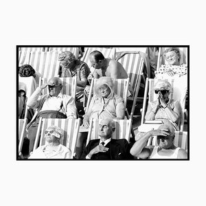 Bandstand II, Eastbourne - Schwarz & Weiß Vintage Portrait Fotografie 1985