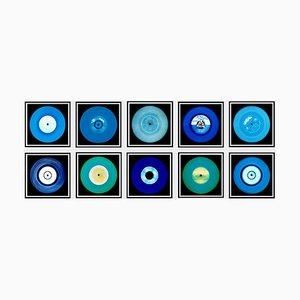 Vinyl Collection Ten Piece Blues Installation - Pop Art Farbfotografie 2017