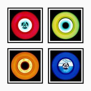 Vinyl Collection Vierteilige Installation - Pop Art Colour Photography 2017