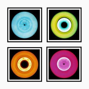 Vinyl Collection Four Piece Installation, Pop Art Color Photography, 2017