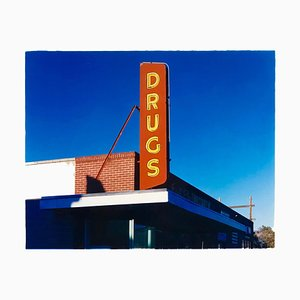 Drug Store', Ely, Nevada - After the Gold Rush Series - Pop Art Color Photo 2003