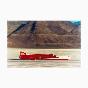 Ferguson Racing Streamliner, Bonneville, Utah - Car In Landscape Farbfoto 2003