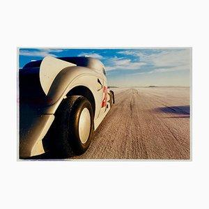Tom Thumb Special, Bonneville, Utah - Car In Landscape Color Photography 2003