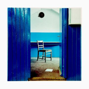 Chair, Northwich - Vintage Industrial Interior Color Photography 1986