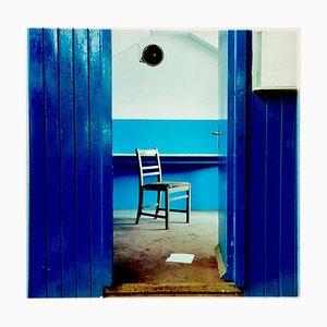 Stuhl, Northwich - Vintage Industrial Interior Colour Photography 1986