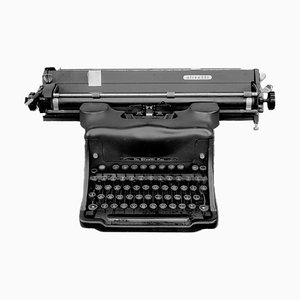 Orthochromatic Positive (antique Olivetti Typewriter) 1987