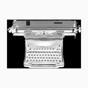 Orthochromatisches Negativ (antiker Olivetti Schreibmaschine) 1987