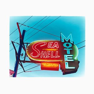 Sea Shell Motel, Wildwood, New Jersey - Amerikanische Pornogelstich Fotografie 2013