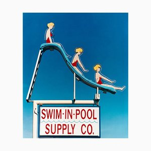Swim-in-pool Vorrat Co. Las Vegas, Nevada - Americana Pop Art Farbfotografie 2003