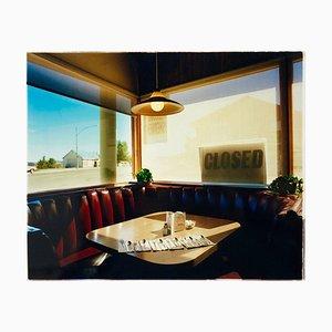 Nicely's Café, Mono Lake, Kalifornien - Limitierte Auflage Farbfotografie 2003