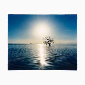 Towards Rock Hill, Spiaggia di Bombay, Salton Sea, California - Waterscape Photography 2003