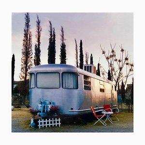 Royal Mansion At Dawn, Bisbee, Arizona - Americana Color Photography 2016