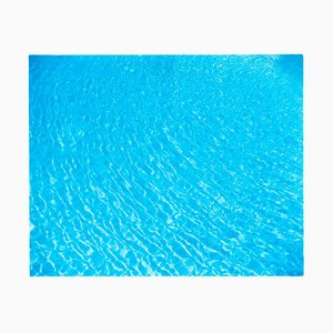 Algier Pool, Las Vegas, Nevada - Blue Water Color Photography 2001