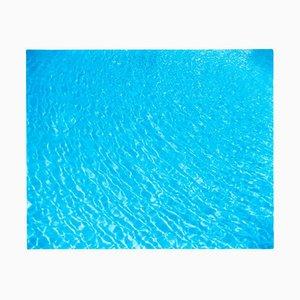 Algiers Pool, Las Vegas, Nevada - Blue Water Color Photography 2001