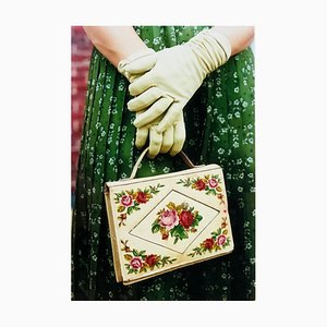 Gloves & Handbag, Goodwood, Chichester - Feminine Fashion, Color Photography 2001
