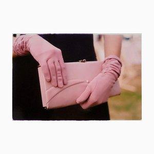 White Handbag, Goodwood, Chichester - Feminine Fashion, Color Photography 2001