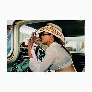 Wendy Flamin '' Eyeball, Las Vegas - Portrait Contemporain, Photographie Couleur 2001