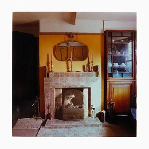 Candle Sticks, Manea - British Vintage Interior Color Photography 1986