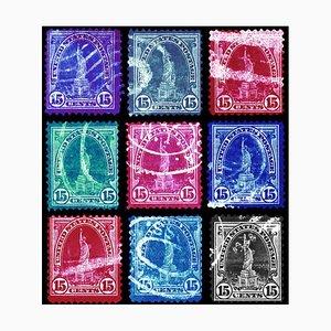 Collezione Stamp, Liberty (multicolore a mosaico) 2016