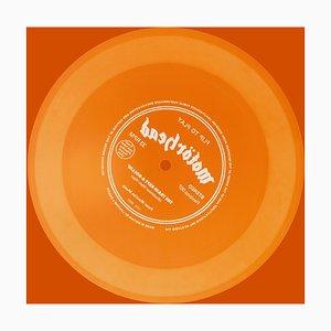 Vinyl Collection, Flip To Play (orange) - Conceptual, Pop Art, Photographie Couleur 2017